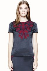Tory Burch Tia Top - Lyst