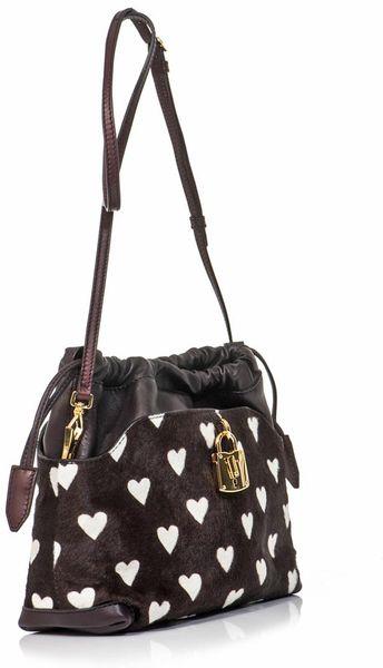 Burberry Prorsum Heart Print Bag