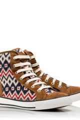 Tory Burch Noah High Top - Lyst