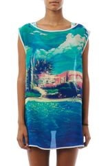 We Are Handsome The Hideaway Print Cover Up - Lyst