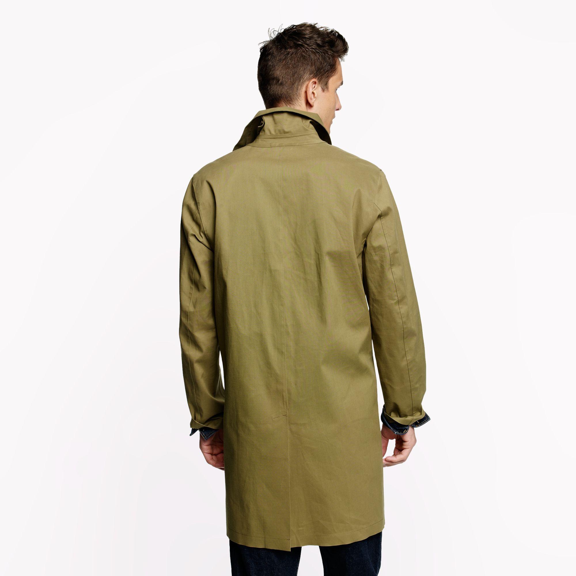 J.crew Mackintosh Dunkeld Coat in Black for Men (khaki ...