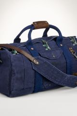 Polo Ralph Lauren Firemans Canvas Duffel Bag - Lyst