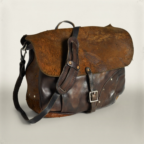 Rrl Leather Mail Bag In Brown For Men Lyst