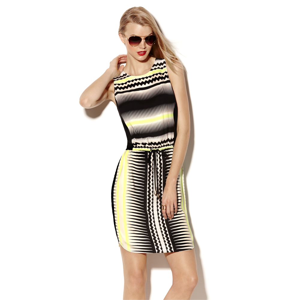 Wave Tank Dress Vince Camuto