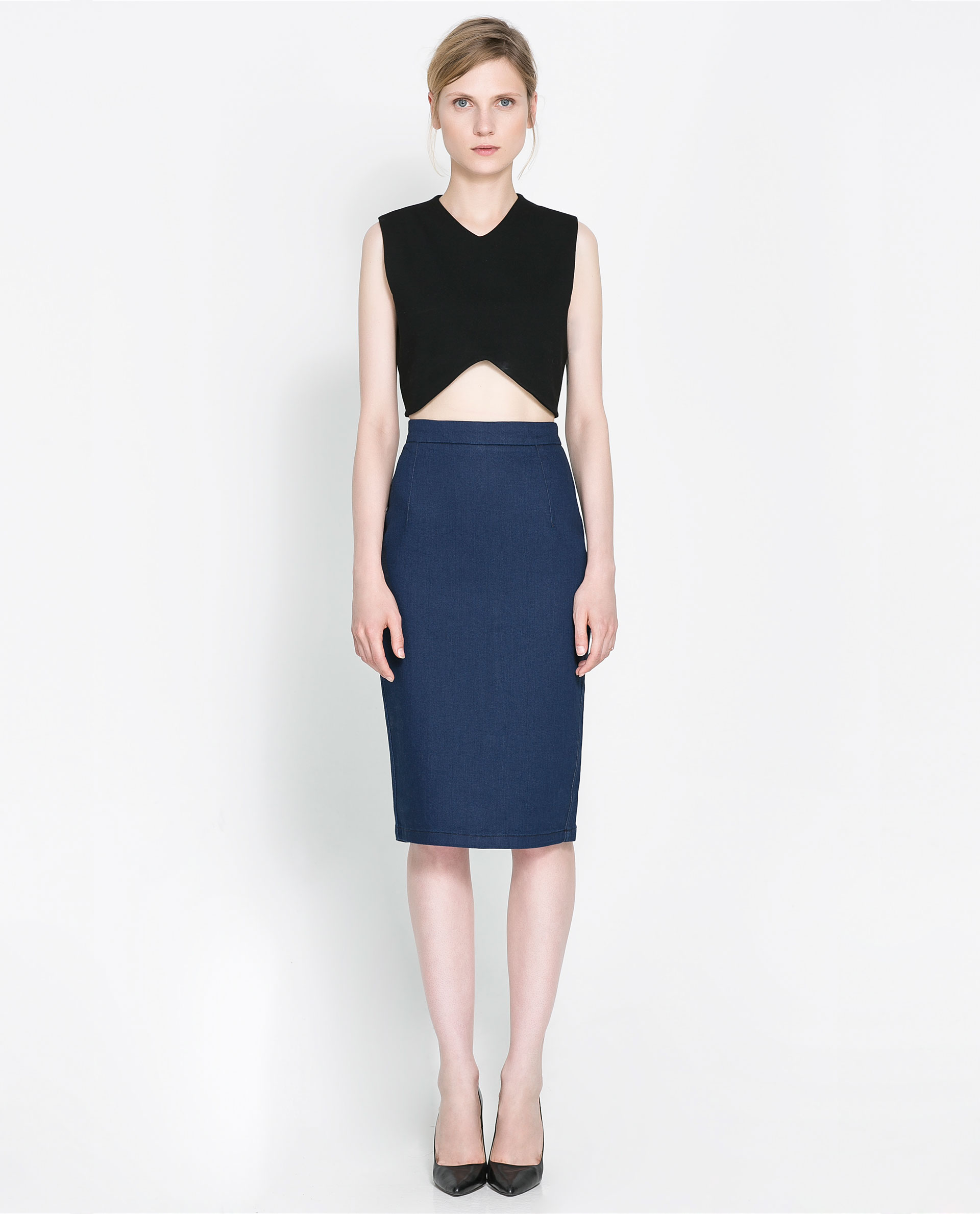 Denim pencil skirt cheap – Modern skirts blog for you