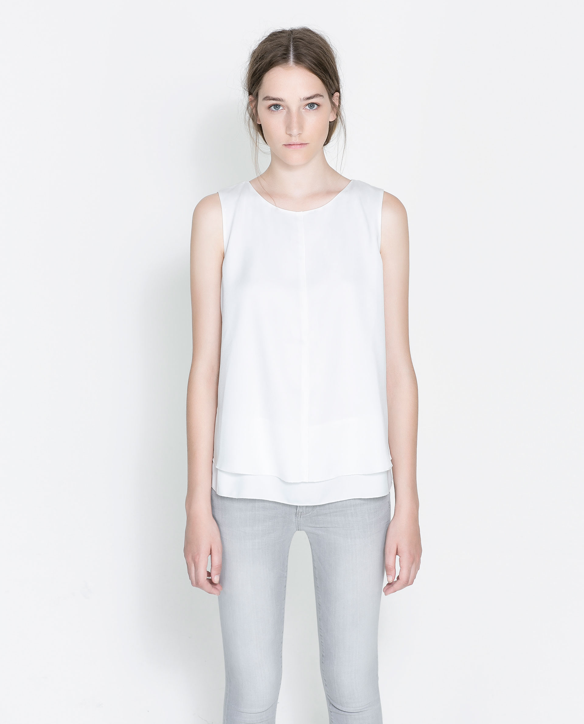 Zara White Blouse 63