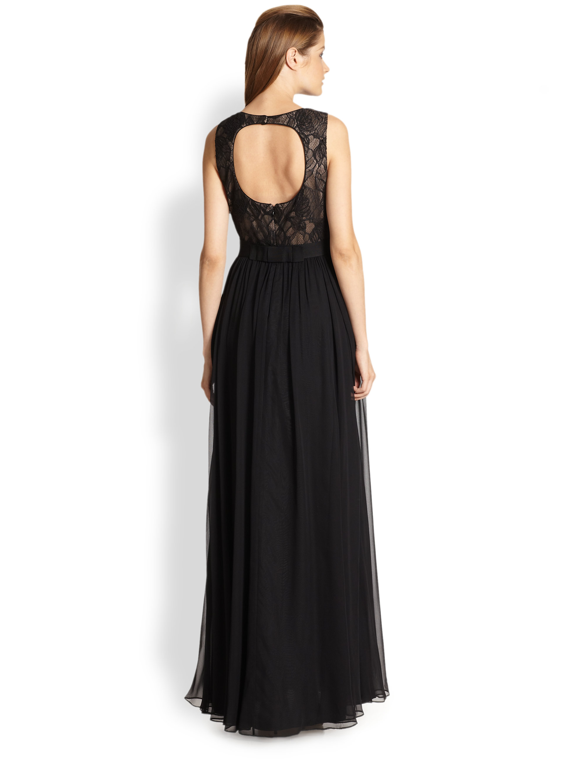 Aidan Mattox Lace Bodice Gown – Dresses for Woman