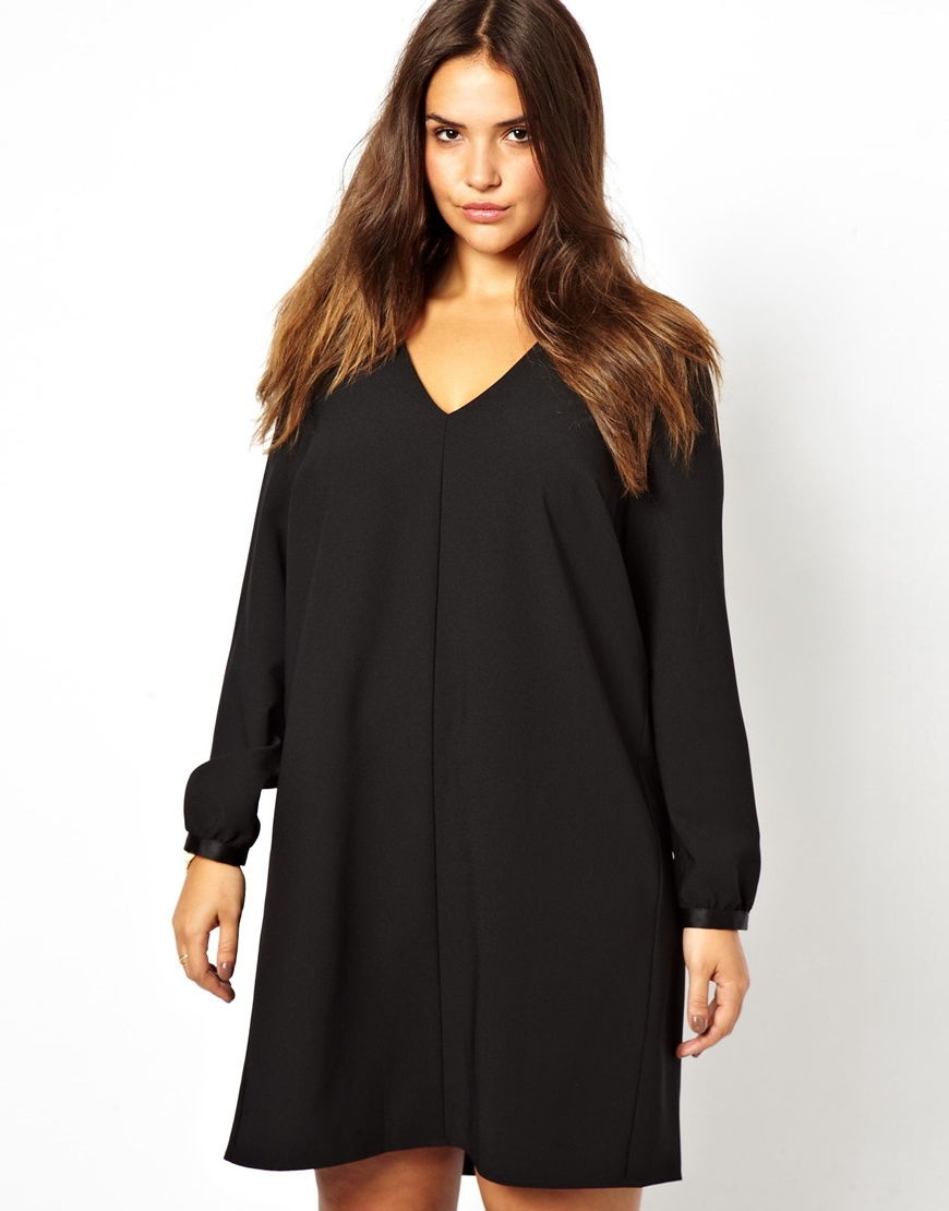 ASOS DESIGN Tall long sleeve cotton smock dress. $ ASOS DESIGN lace v neck mini smock dress with long sleeves. $ ASOS DESIGN mini casual shirt dress with long sleeves and drawstring waist. $ ASOS DESIGN Petite jacquard mini skater dress with buttons and long .