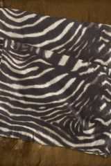 Denim & Supply Zebraprint Cotton Scarf - Lyst
