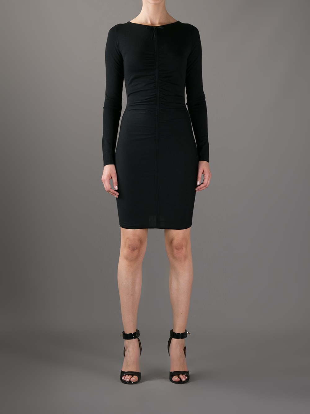 Pucci Wool Dress Black