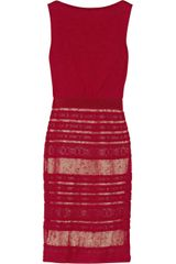 Giambattista Valli Fine-knit Linen-blend Dress - Lyst