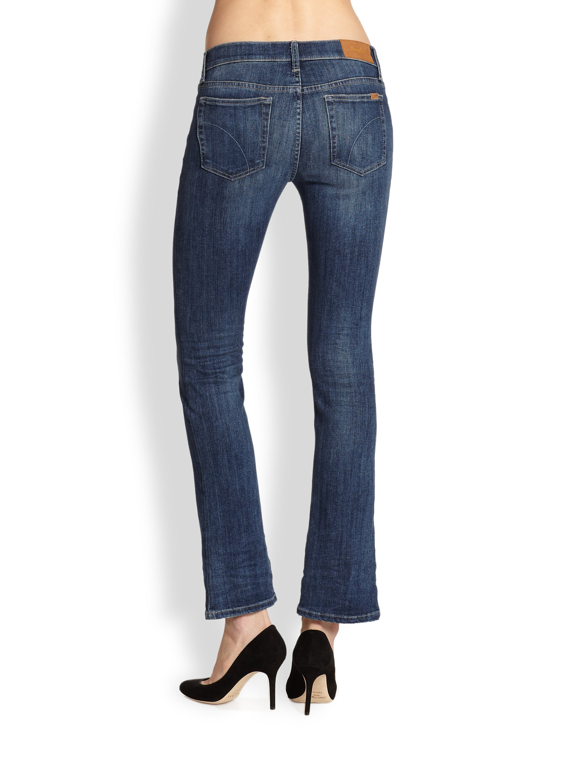 Joe&39s jeans Laurel Petite Bootcut Jeans in Blue | Lyst