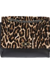 Lanvin Leopard Print Happy Shoulder Bag - Lyst