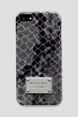 Michael by Michael Kors Embossed Iphone 5 Case  - Lyst