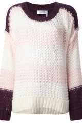 Sonia By Sonia Rykiel Knitted Sweater - Lyst