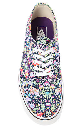 70171e60f1 Lyst - Vans The Vans X Liberty Of London Authentic Sneaker in Blue for Men