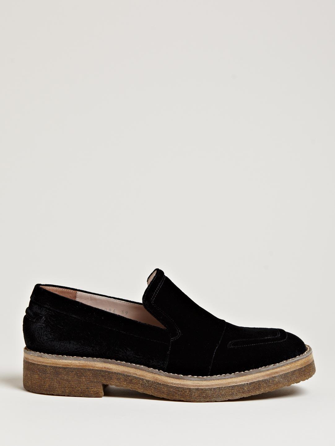 Black 20 Leather flatform loafers Dries Van Noten szxuC7bJ