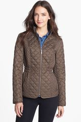 Laundry By Shelli Segal Quilted Jacket - Lyst