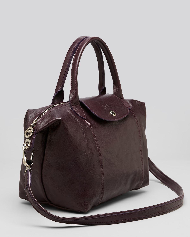 Lyst Longchamp Shoulder Bag Le Pliage Leather Cuir