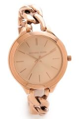 Michael Kors Slim Runway Twist Watch - Lyst