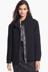 Milly Wool Blend Jacket - Lyst