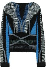 Peter Pilotto Moleton Chunky-knit Wool-blend Sweater - Lyst