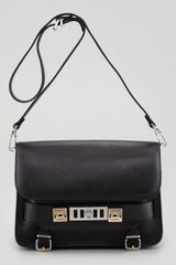 Proenza Schouler Classic Shoulder Bag Black - Lyst