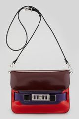 Proenza Schouler Mini Classic Shoulder Bag Multicolor - Lyst