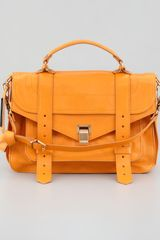 Proenza Schouler Ps1 Medium Leather Satchel Bag  - Lyst