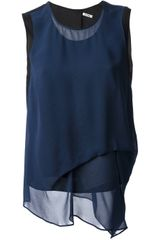 Acne Stell Sleeveless Blouse - Lyst