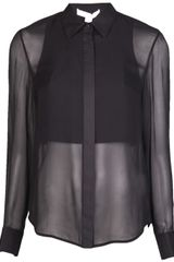 Alexander Wang Double Layer Dress Shirt - Lyst