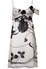 Anna Sui Floral Print Dress - Lyst