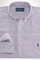 Big & Tall Classic Fit Checked Oxford Shirt - Lyst