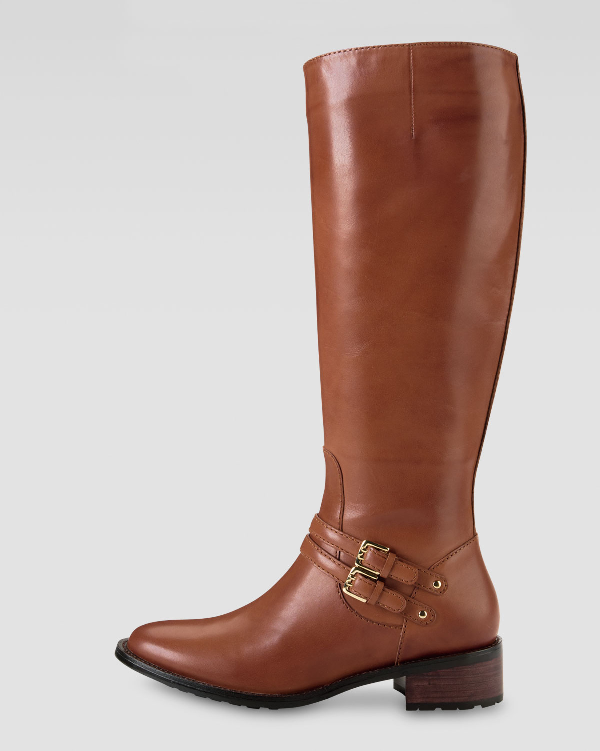 Cole haan Dover Riding Boot Woodbury in Brown | Lyst
