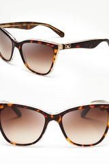 Dolce & Gabbana Cat Eye Sunglasses - Lyst