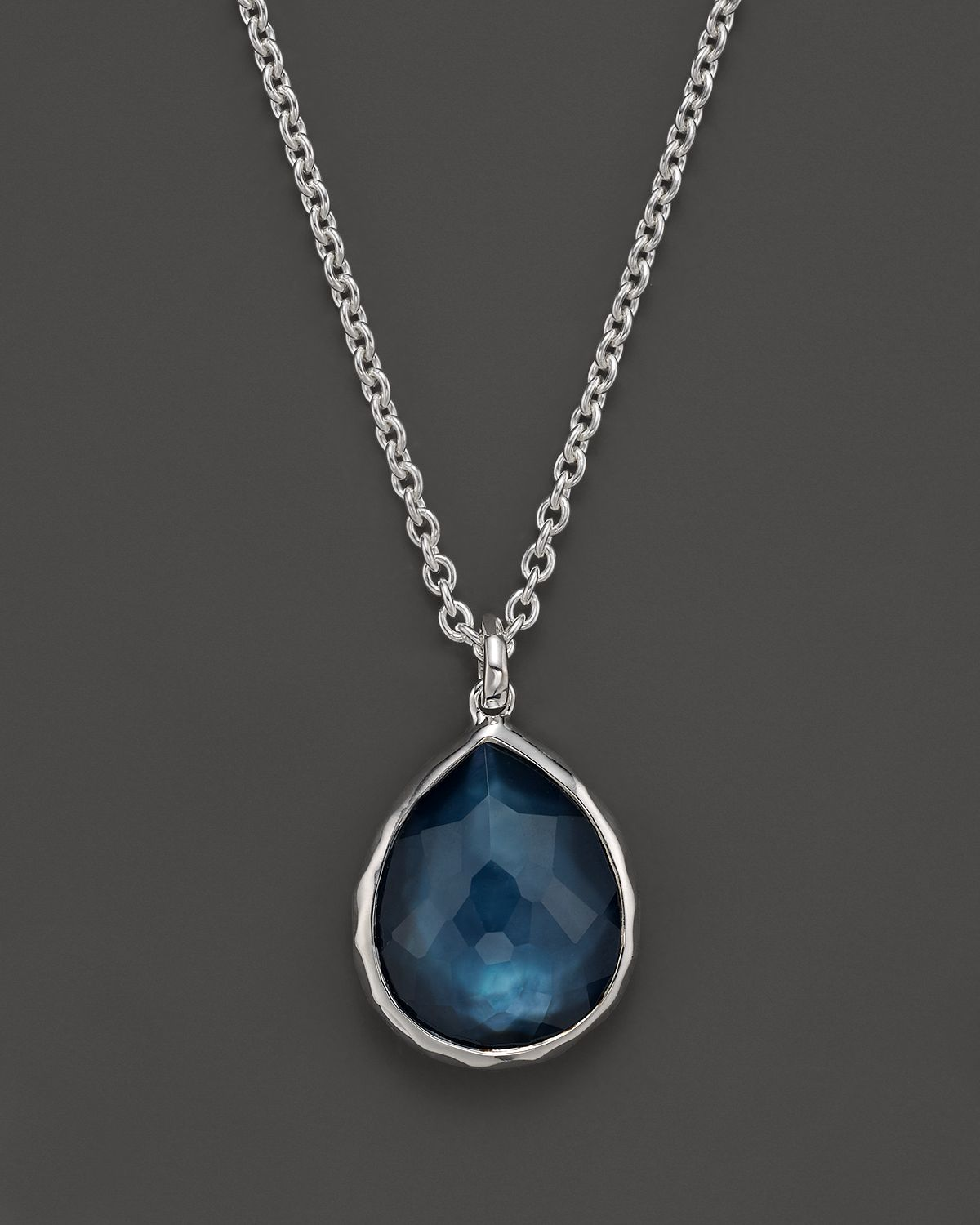e495b210d0d48b Ippolita Sterling Silver Wonderland Mini Teardrop Pendant Necklace ...