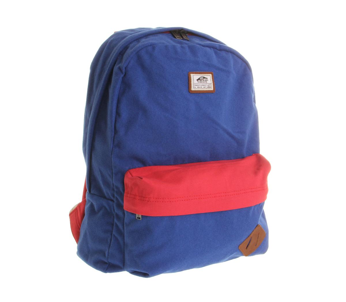 Lyst - Vans Old Skool 11 Backpack in Blue for Men e100bef43