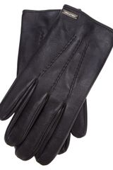 DSquared2 Classic Leather Gloves - Lyst