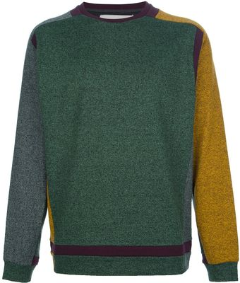 Henrik Vibskov Per Colour Block Sweater - Lyst
