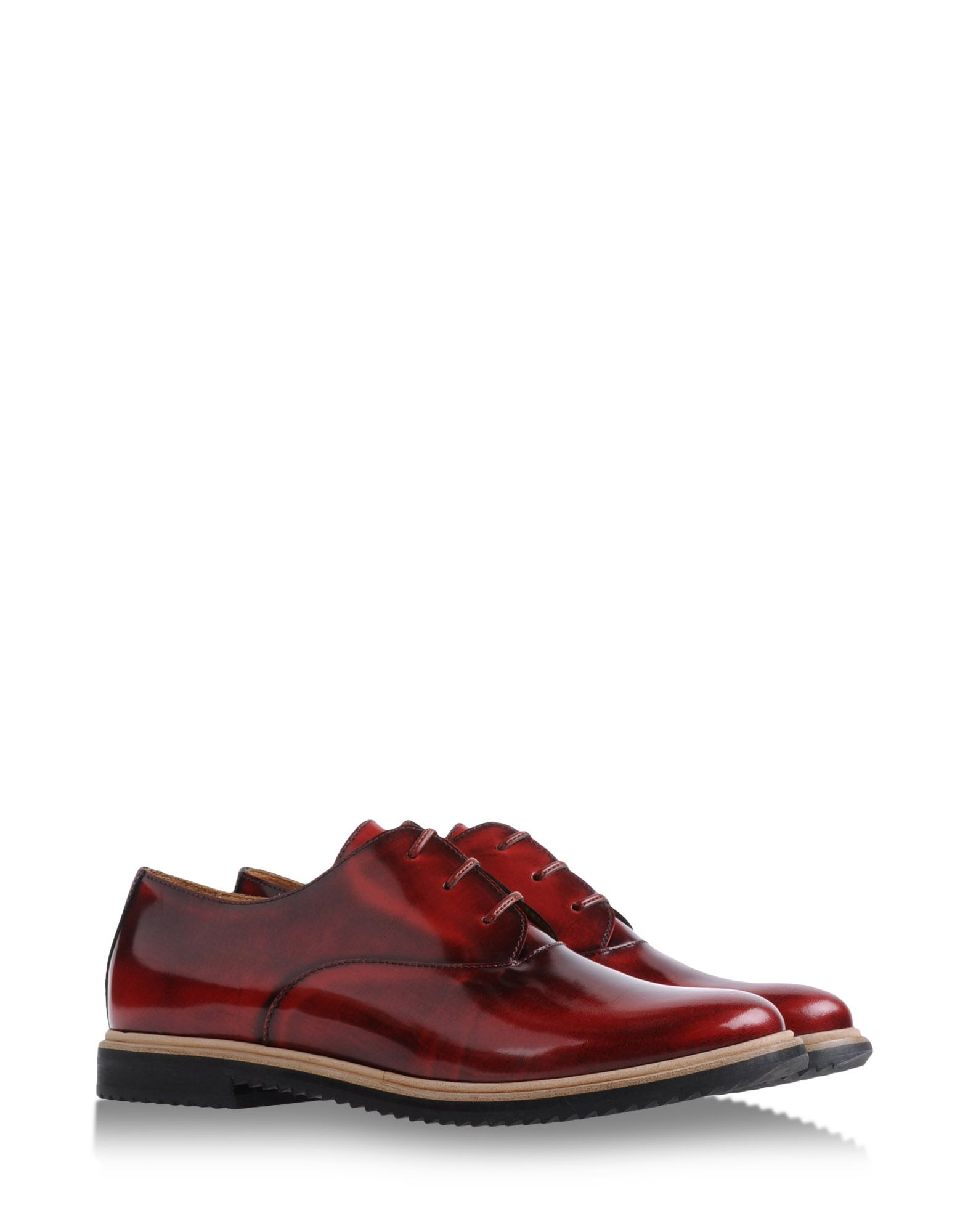 Mm6 By Maison Martin Margiela Oxfords Brogues in Red
