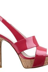 Nine West Fairgame Platform Sandal - Lyst