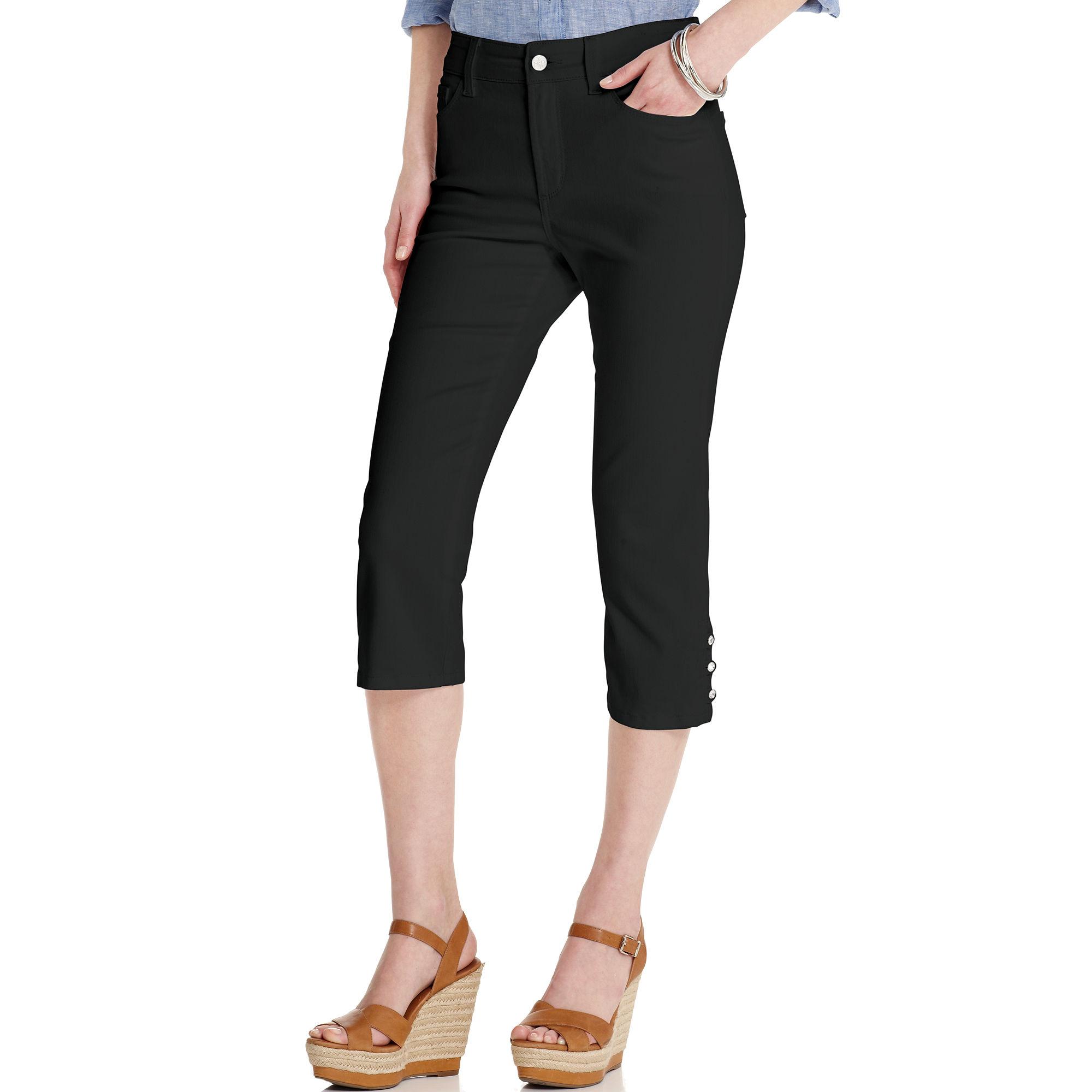 not your daughter 39 s jeans nydj jeans cecilia skinny capris. Black Bedroom Furniture Sets. Home Design Ideas
