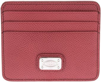 Tod's Classic Card Holder - Lyst