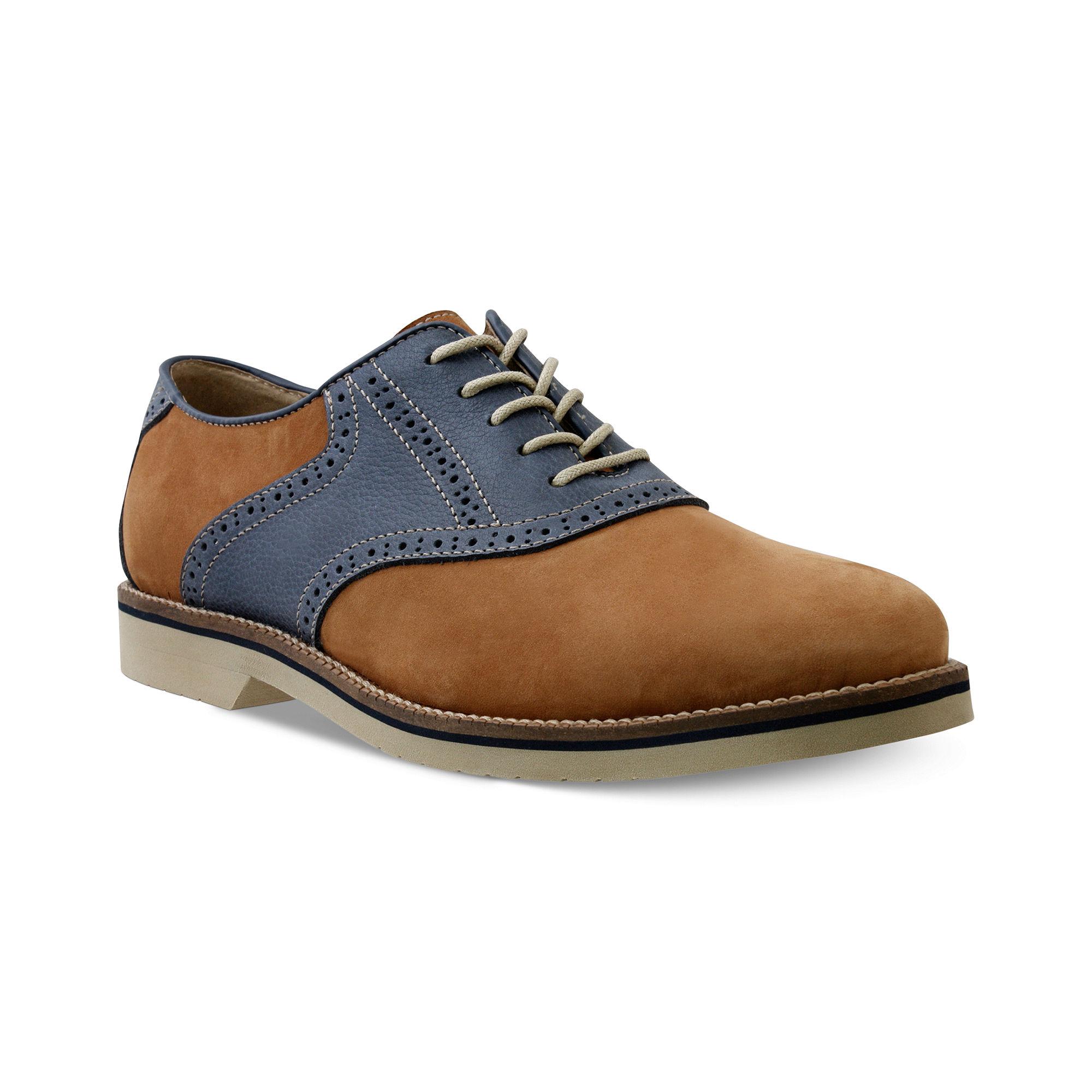 Mens Bass Burlington Saddle Oxford Shoes