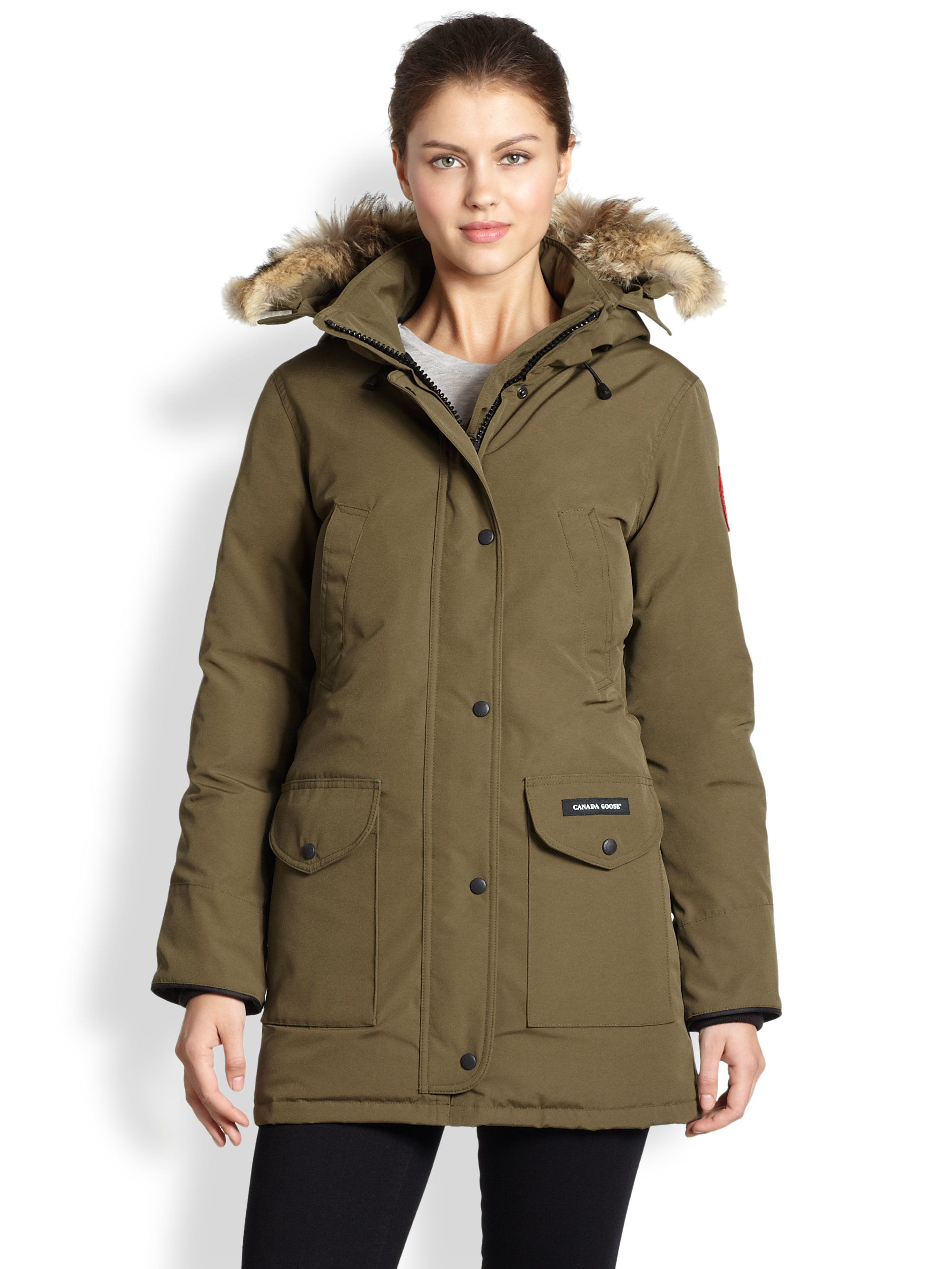 Canada Goose - Trillium Down Parka - Women's - Military Green