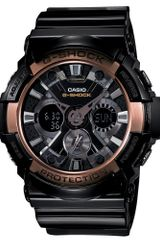 G-shock Mens Analog Digital Black Resin Strap 53x55mm Ga200rg1a - Lyst