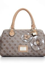 Guess Persuasion Small Box Satchel - Lyst