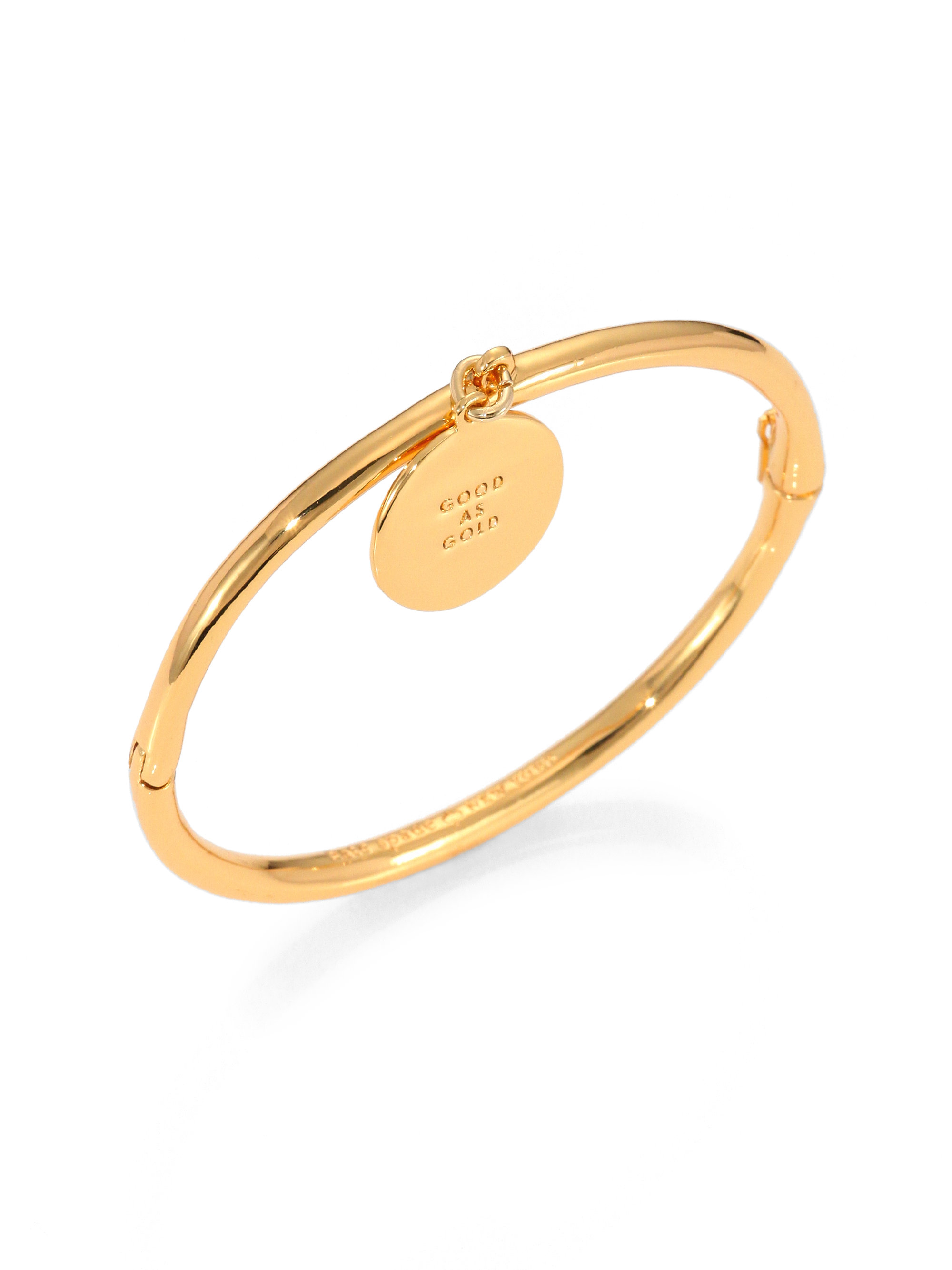 Gallery Previously Sold At Saks Fifth Avenue Women S Gold Bangles Kate Spade