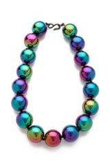 Kenneth Jay Lane Rainbow Beads Necklace - Lyst