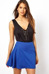 Asos  Body with Jewelled Plunge Neckline - Lyst